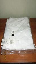 New 16 Neck 32/33 Sleeves Van Heusen White Dress Shirt Long Sleeve Button Front