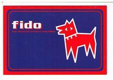 Postcard: Fido - Financial Information Delivered Online - ACIS