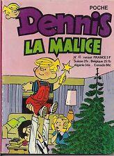 DENNIS LA MALICE POCHE N°41 DÉCEMBRE 1976