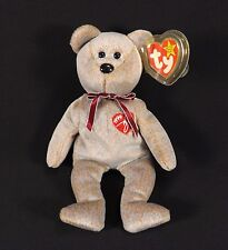 1999 SIGNATURE BEAR 4TH GENERATION ERROR TAG-TY BEANIE BABY-ADULT OWNED-EX COND