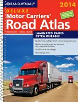 Rand McNally Deluxe Motor Carriers' Road Atlas by Rand McNally Book The Fast
