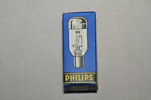 Philips P15S 10V 7.5 A TYP.6056C BASE DOWN Projector Lamp Bulb NOS