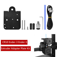 1 Set Extruder Adapter Plate Upgrade Kit For CR10 Ender-3, 5 Direct Drive Plate
