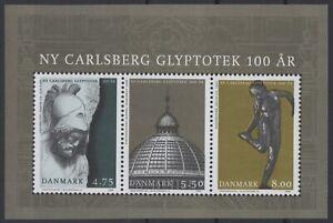 DENMARK Sc. 1356a New Carlsberg Glyptotek 2006 MNH souvenir sheet