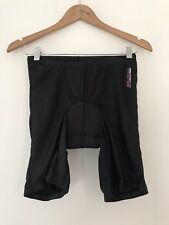 Ladies Cycling Shorts 8 Mountain Life Actuve Black Casual  <JJ11142