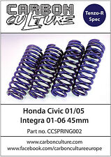 CARBON CULTURE HONDA INTEGRA DC5 2001-2006 45mm LOWERING SPRINGS