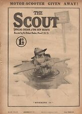1919 The Scout December 27 - Mystery of Brockton Hall; Fighting death in furnace