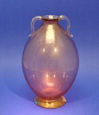 Murano Vase mit feiner Goldfolie Entwurf Carlo Scarpa für Cappellin - 130053 -