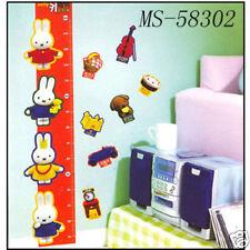 Kids Room Growth Chart Wall Decal Sticker, 70x100cm