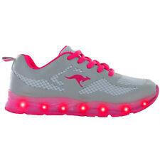 KangaROOS K-Lev III Schuhe LED Sneaker light grey magenta 16062-263 K-Lab VI
