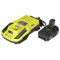 Ryobi P128 ONE+ 18-Volt Lithium-Ion Battery and IntelliPort Charger Upgrade Kit