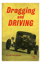 New Hot Rod Poster 11x17 Dragging and Driving book novel cover pulp drag race