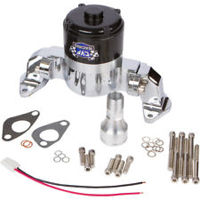 Big Block Chevy Electric Water Pump 390 427 454 EWP BBC High Volume Flow Chrome