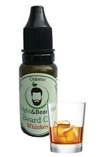 Whiskey Beard Oil for Conditioning & Growth, Thicker & Softer Beard 15ml