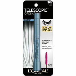 L'Oreal Telescopic Original Mascara WATERPROOF BLACK 925 (1 PACK)