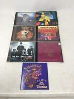 Lot Of 7 CDs The Who Santana Heart Rolling Stones Queen Classic Rock