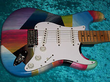 Maple nk Fender Stratocaster Guitar Strat MIM Mexican Mexico paint USA standard