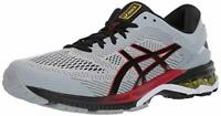 ASICS Men's Gel-Kayano 26 (4E) Running Shoes, Piedmont Grey/Black, Size 9.5 ZVeT