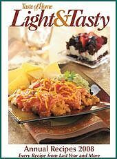 Taste of Home Light & Tasty Annual Recipes 2008 (E