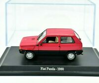 Model Car Fiat Panda Scale 1/43 diecast modellcar Static NOREV New Ten