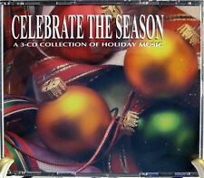 Celebrate the Season 3 CD Set Instrumentals Classical Contemporary 49 Tracks