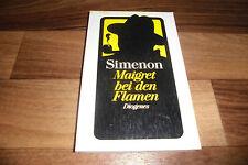 Georges Simenon -- KOMMISSAR MAIGRET bei den FLAMEN // Diogenes 1980