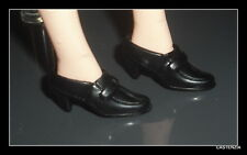 SHOES MATTEL BARBIE  X-FILES DANA SCULLY BLACK LOAFERS  SHOES  ACCESSORY ITEM