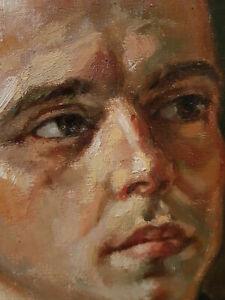 Ölgemälde Herrenporträt Mann Herr