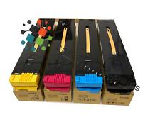 4 Color Toner Cartridge set for Xerox DC250 7665 250 Docucolor 240 DC242 DC260