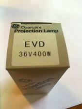 Lot of 3 New General Electric Bulb Model EVD 36V 400W Projector Lamp Bulb
