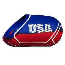 Exalt Paintball Tank Cover - Medium 68-72ci - USA Red / Blue