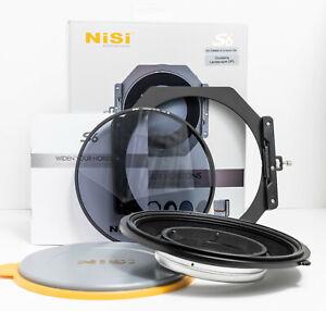 NiSi S6 Holder for Fujifilm XF 8-16mm with Landscape Polariser Filter - Set