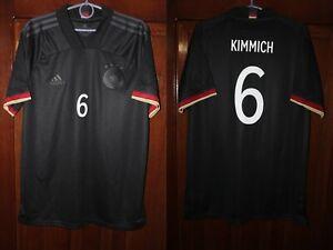Germany Deutschland 2020 2021 Kimmich Away Euro Black Adidas shirt jersey Size L
