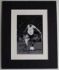 David Johnson Signed Autograph 10x8 photo display Liverpool Football AFTAL COA