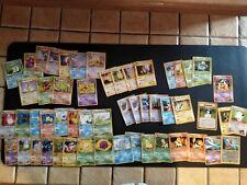 Carte pokémon lot played /heavy played starters pikachu promo banned dark light