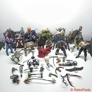 1990s MCFARLANE Toys Lot Of 16 Figures & Accessories Spawn