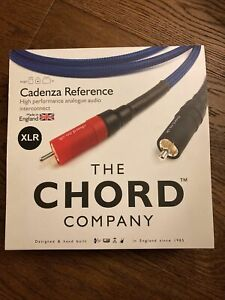 Chord Company XLR Cadenza Reference Interconnects