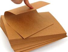 A4 Brown Kraft Paper DIY Handmake Card Board Craft Making Thick Paperboard DIY