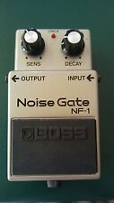 Boss MIJ NF-1 Noise Gates Guitar Pedal Made in Japan Excellent shape