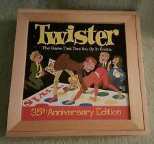 Twister (2001) 35th Anniversary Edition Milton Bradley Nostalgia Game Series