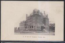 Postcard TOPEKA Kansas/KS  A.T. & S.F.  Railroad Hospital Building 1907