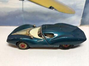 Corgi toys Vintage Chevrolet experimental car. Red dot wheels. Good Playworn