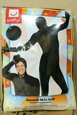 2 X Smiffys Second Skin Suit Large Black