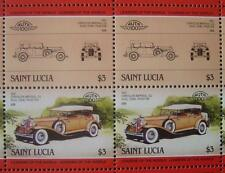 1931 CHRYSLER IMPERIAL CG Car 50-Stamp Sheet / Auto 100 Leaders of the World