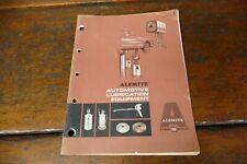 Vintage Original 1960s Alemite Automotive Lubricant Equipment Catalog #1