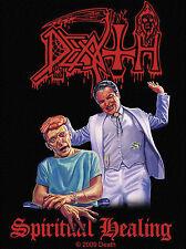 Death-spirito Healing ricamate patch Chuck Schuldiner Heavy Metal tonaca NUOVO