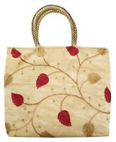 Indian Purse Ladies Vintage Traditional Embroidery  Hand Clutch Bag CL069B RED