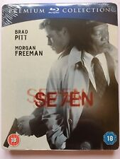 Seven (Se7en, Blu-ray, Steelbook Premium Collection)