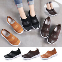 UK 7.5 Womens Ladies Loafers Flat Tassel Casual Shoes Pumps Moccasins Leather