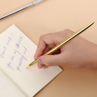 Stainless Steel Rod Rotating Metal Ballpoint Pen Office Business Signature-Pen